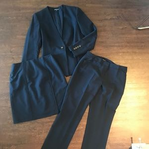 Gianni Bini Three Piece Suit Set - Navy
